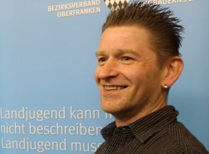 """Marco """"Maikel"""" Firedlein (Arbeitskreissprecher Volkstanz und Brauchtumspflege)"""