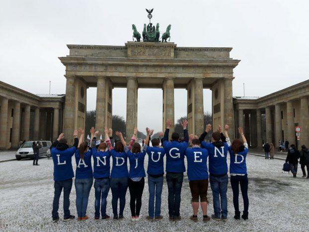 Landjugend in Berlin