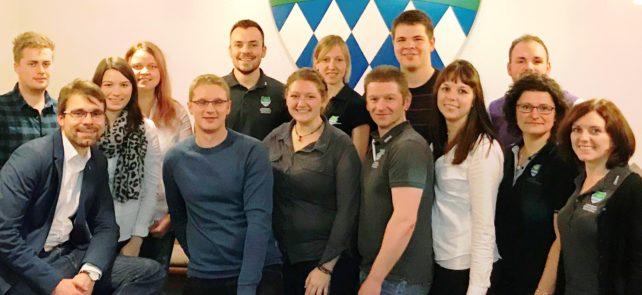 Max Raimund ist neuer Bezirksvorsitzender im LJ-Bezirksverband Oberfranken