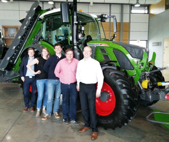 Bezirksverband Unterfranken beim Fendt SAATEN-UNION Feldtag 2018 integriert