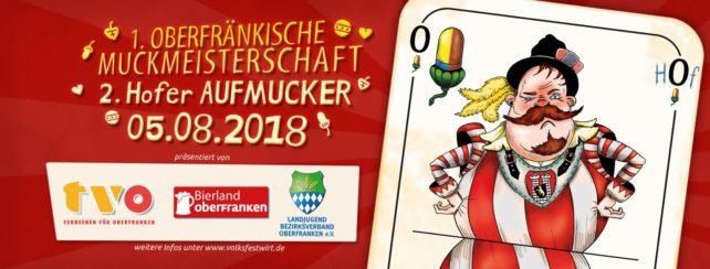 1. oberfränkische Muckmeisterschaft in Kooperation mit dem Landjugend-Bezirksverband Oberfranken
