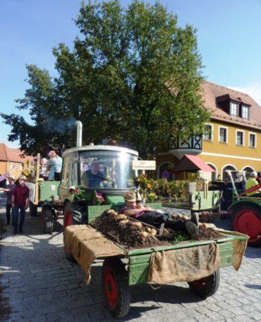 Buntes Erntedankfest in Bad Windsheim