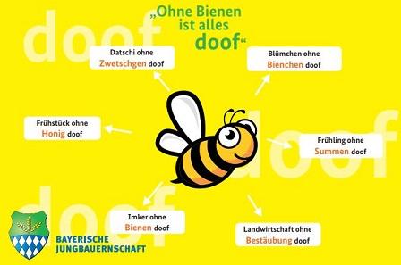 Ohne Biene ist alles doof