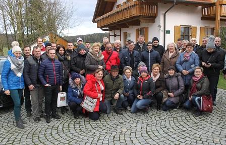 Delegation aus Polen in NDB/OPF zu Gast