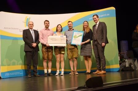 Mit Landjugend App Ernst-Engelbrecht-Greve Preis gewonnen