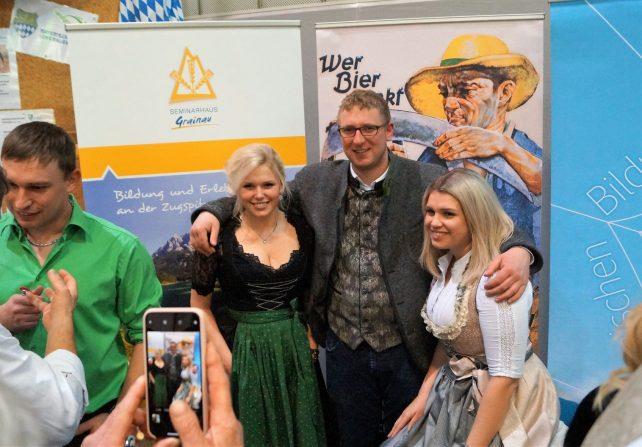 """Jungbauernschaft auf der """"Rekord Regio Agrar"""""""