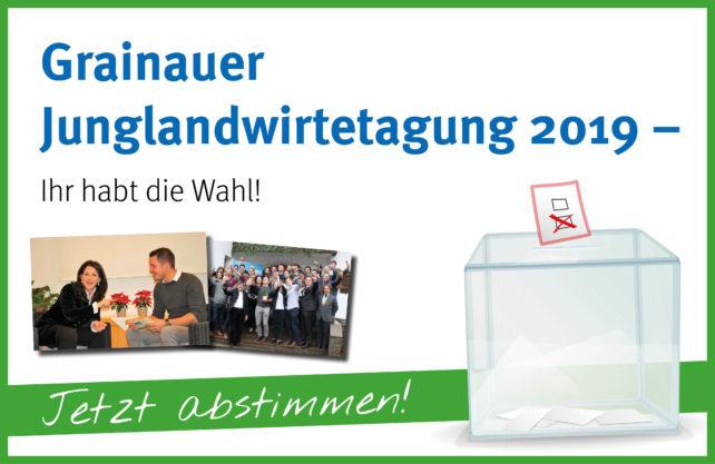 Grainauer Junglandwirtetagung 2019 – Jetzt das Thema mitbestimmen!