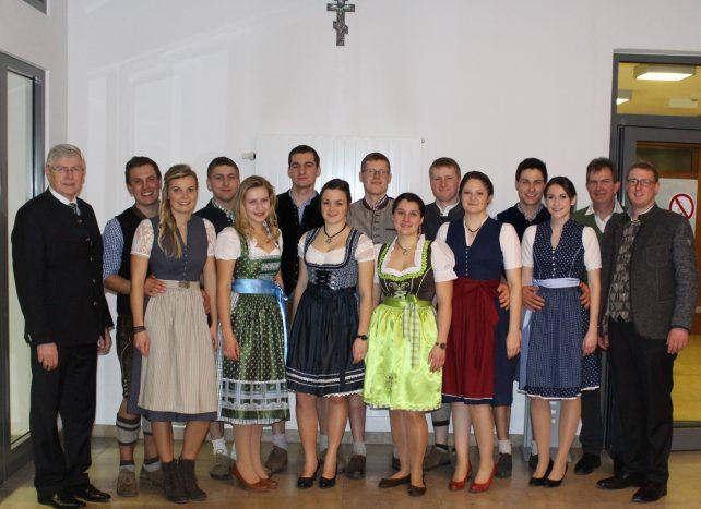 Ball der Landwirtschaft – Auftritt der Volkstanzgruppe vom RJL Schwandorf