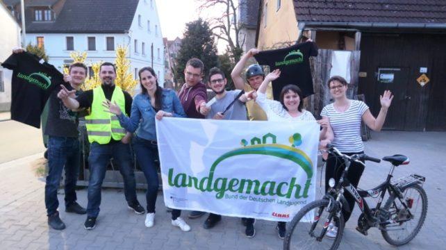 """""""Schwitzen statt Schwätzen – Landjugend radelt für einen guten Zweck"""" in / um Bad Windsheim"""