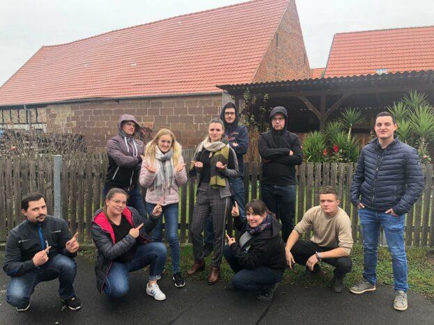 Mittelfränkisches Teamtraining in Ipsheim