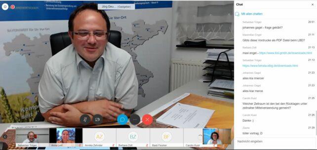 1. Bayernweites Online Seminarangebot in der BJB: Kassierschulung mit der BERATA Kulmbach