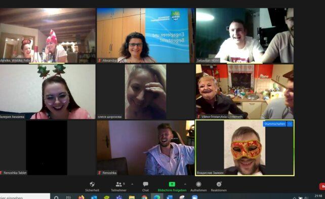 1. digitale deutsch-russische Jugendbegegnung