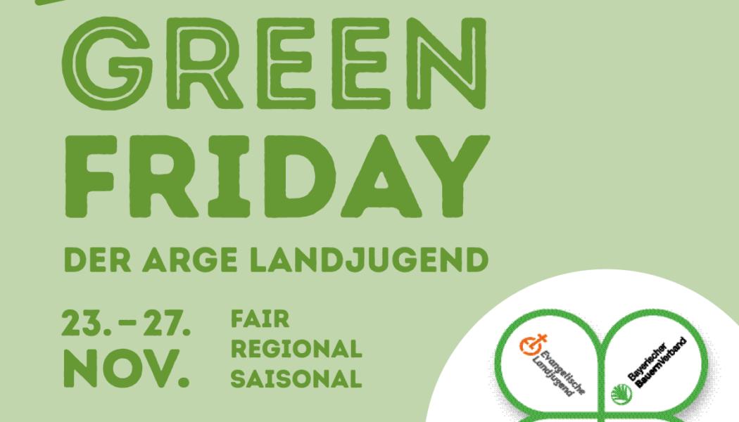 Green Friday statt Rabattschlacht