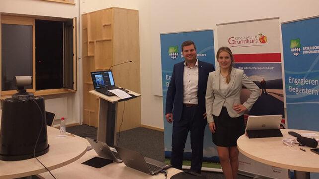 Erste Online-Bezirksversammlung in Niederbayern