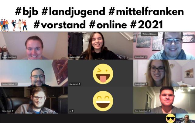 Mal wieder online in Middelfranggn.