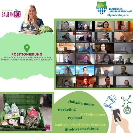 Direktvermarktung – der Hofladen online. Online Seminar