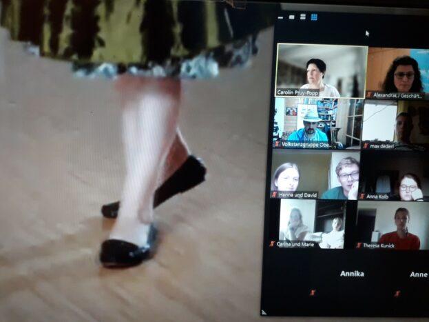 Tänz.Dänce.Dance. Digitaler Volkstanzabend im BV Oberfranken